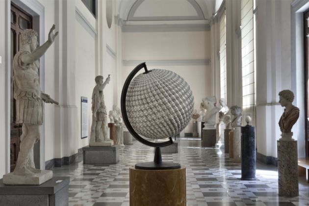 Adrian Tranquilli, After the West, 2016 – installation view at MANN, Napoli 2016 – photo Claudio Abate