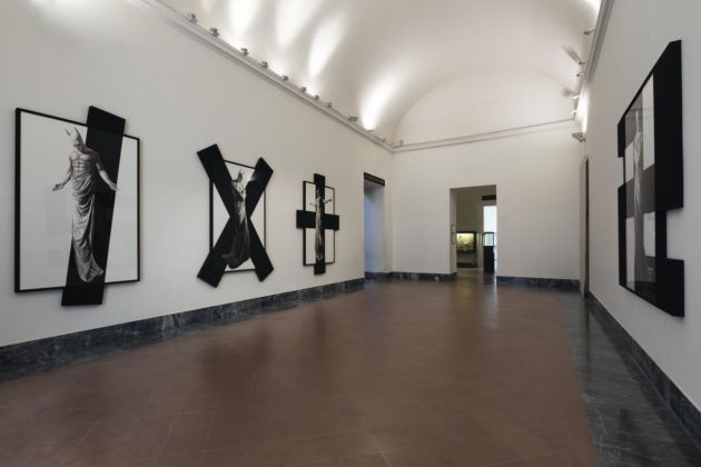 Adrian Tranquilli, In Excelsis, 2011 – installation view at MANN, Napoli 2016 – photo Claudio Abate