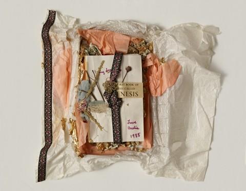 Amelia Etlinger, The first book of Moses called Genesis, 1985 - Mart, Archivio di Nuova Scrittura, Collezione Paolo Della Grazia