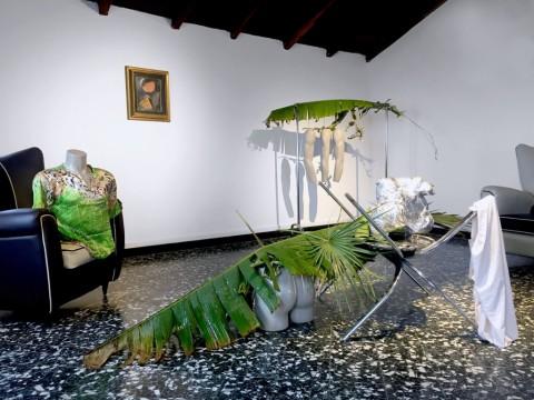 Arianna Carossa - Limoni - installation view at Casa Museo Jorn, Albissola Marina 2016