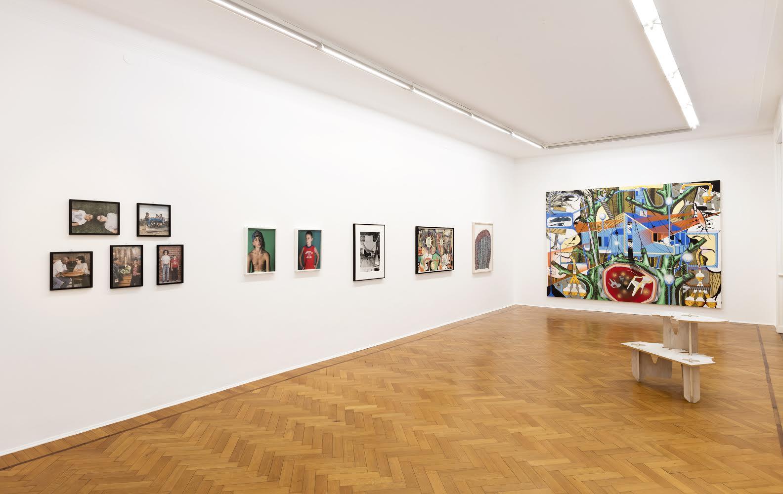 Art from Los Angeles 1990-2010 - installation view at Studio Guenzani, Milano 2016