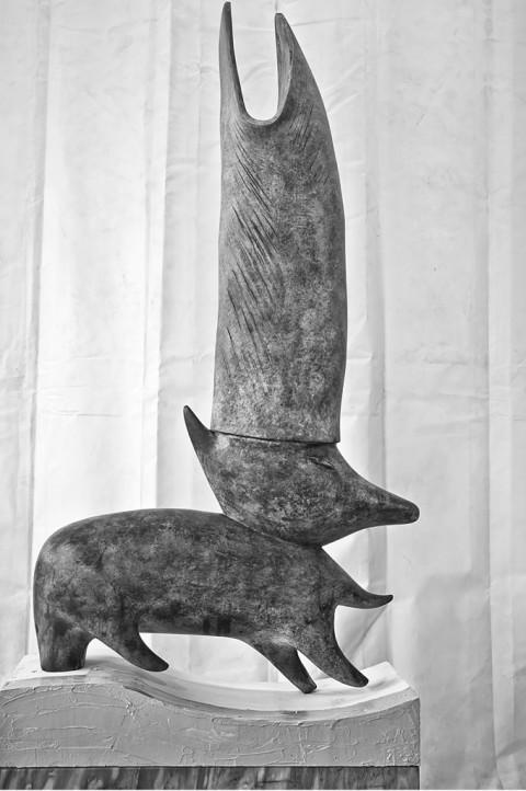 Camille Henrot, disegno preparatorio per Monday - Courtesy the artist & Fondazione Memmo, Roma – photo Daniele Molajoli