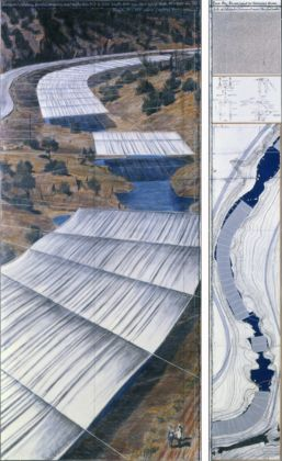 Christo, Over the River, Project for Arkansas River, State of Colorado - photo André Grossmann - (c) Christo 2010 Ref #70