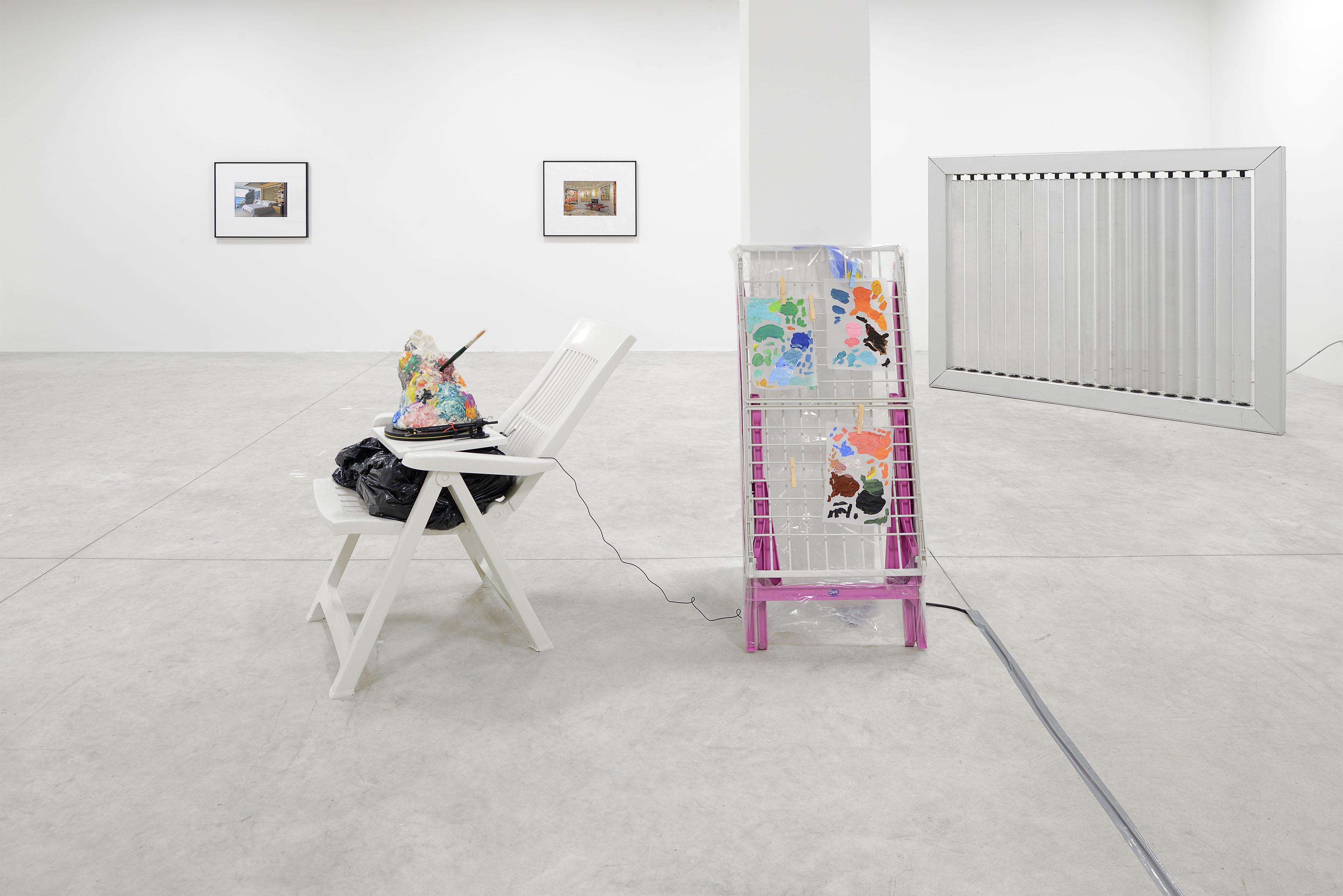 Dan Rees – Road Back To Relevance – installation view at Nomas Foundation, Roma 2016 – photo Roberto Apa