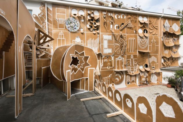 Daniel González, Pop-Up Building Milan - Marsèlleria, Milano 2015 - photo Carola Merello - courtesy dell'artista e Marsèlleria