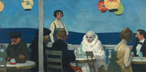 Edward Hopper, Soir Bleu, 1914 - Whitney Museum of American Art, New York; Josephine N. Hopper Bequest - © Heirs of Josephine N. Hopper, Licensed by Whitney Museum of American Art
