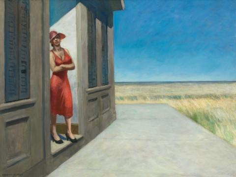 Edward Hopper, South Carolina Morning, 1950 - Whitney Museum of American Art, New York; Josephine N. Hopper Bequest - © Heirs of Josephine N. Hopper, Licensed by Whitney Museum of American Art