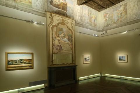 Edward Hopper - installation view at Palazzo Fava, Bologna 2016 - photo Giorgio Benvenuti