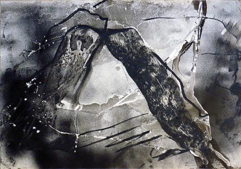Emilio Vedova, senza titolo, 1946
