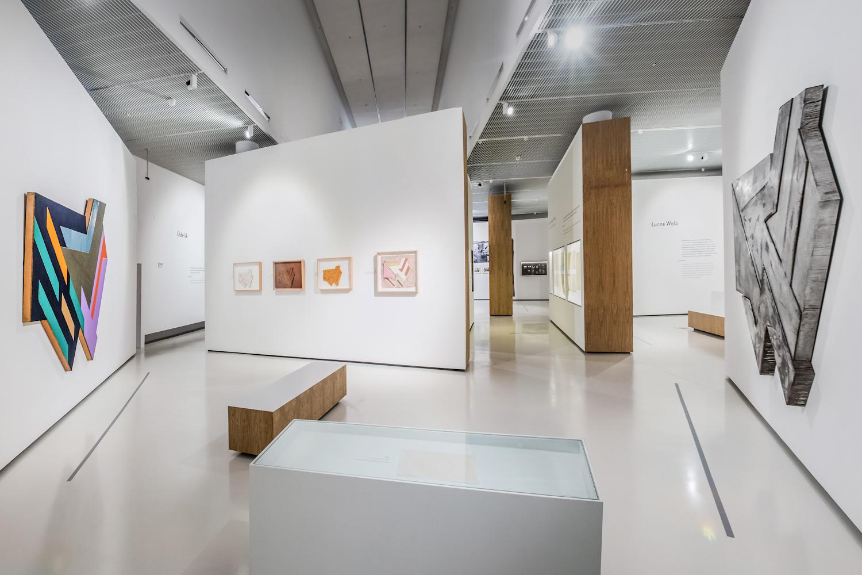 Frank Stella and Synagogues of Historic Poland - installation view at POLIN Museum, Varsavia 2016