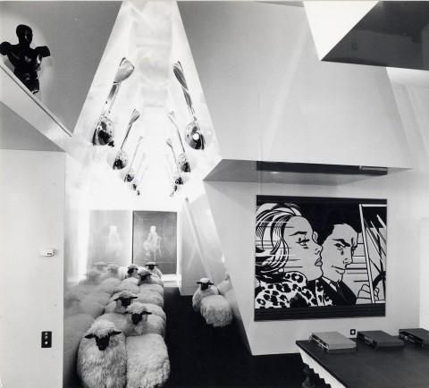 Gae Aulenti, Casa del Collezionista – photo Ugo Mulas (1968)