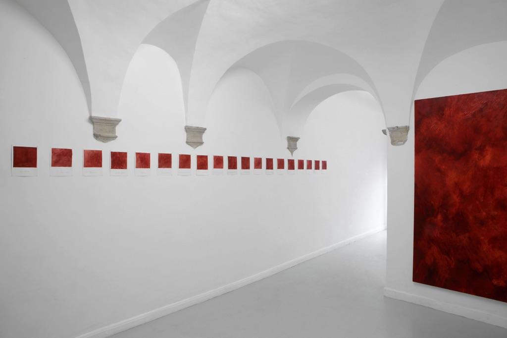 Giuseppe Buzzotta – Moon Screens - installation view at Operativa Arte Contemporanea, Roma 2016