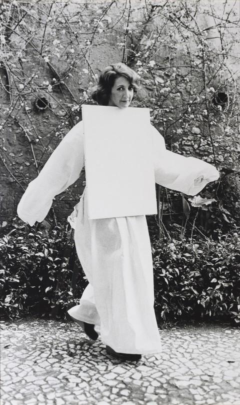 Helena Almeida, Tela habitada ,1976