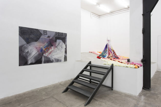 Henrik Olai Kaarstein – Well Received Lies - intallation view at T293, Roma 2016