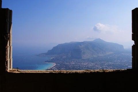 Il panorama da Pizzo Sella, Palermo foto © Fare Ala