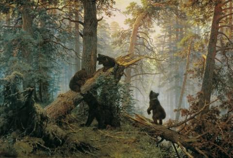 Ivan Ivanovič Šiškin, Mattino in una foresta di pini