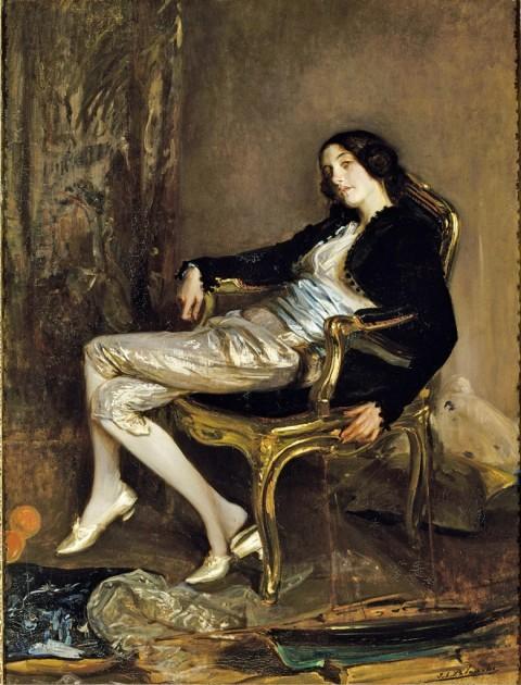 Jacques-Emile Blanche, Il cherubino di Mozart, 1903 ca. - Reims, Musée des Beaux-Arts