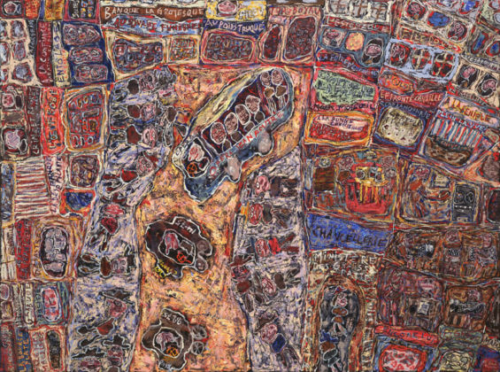 Jean Dubuffet, Le commerce prospère, 1961 - The Museum of Modern Art, New York - © 2015, ProLitteris, Zürich - photo © 2015. Digital image, The Museum of Modern Art, New York-Scala, Florence