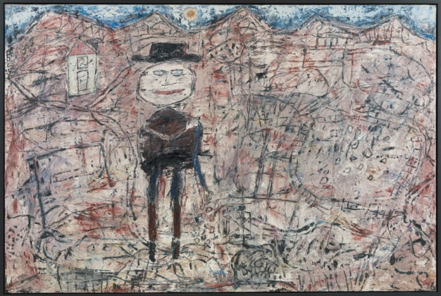 Jean Dubuffet, Le voyageur égaré, 1950 - Fondation Beyeler, Riehen-Basel - © 2015, ProLitteris, Zürich - photo Cantz Medienmanagement, Ostfildern