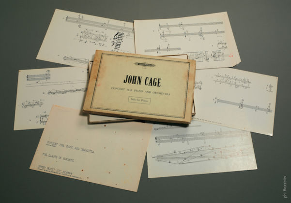 John Cage, Concert for Piano and Orchestra. Solo for Piano, 1960 - Edition Peters