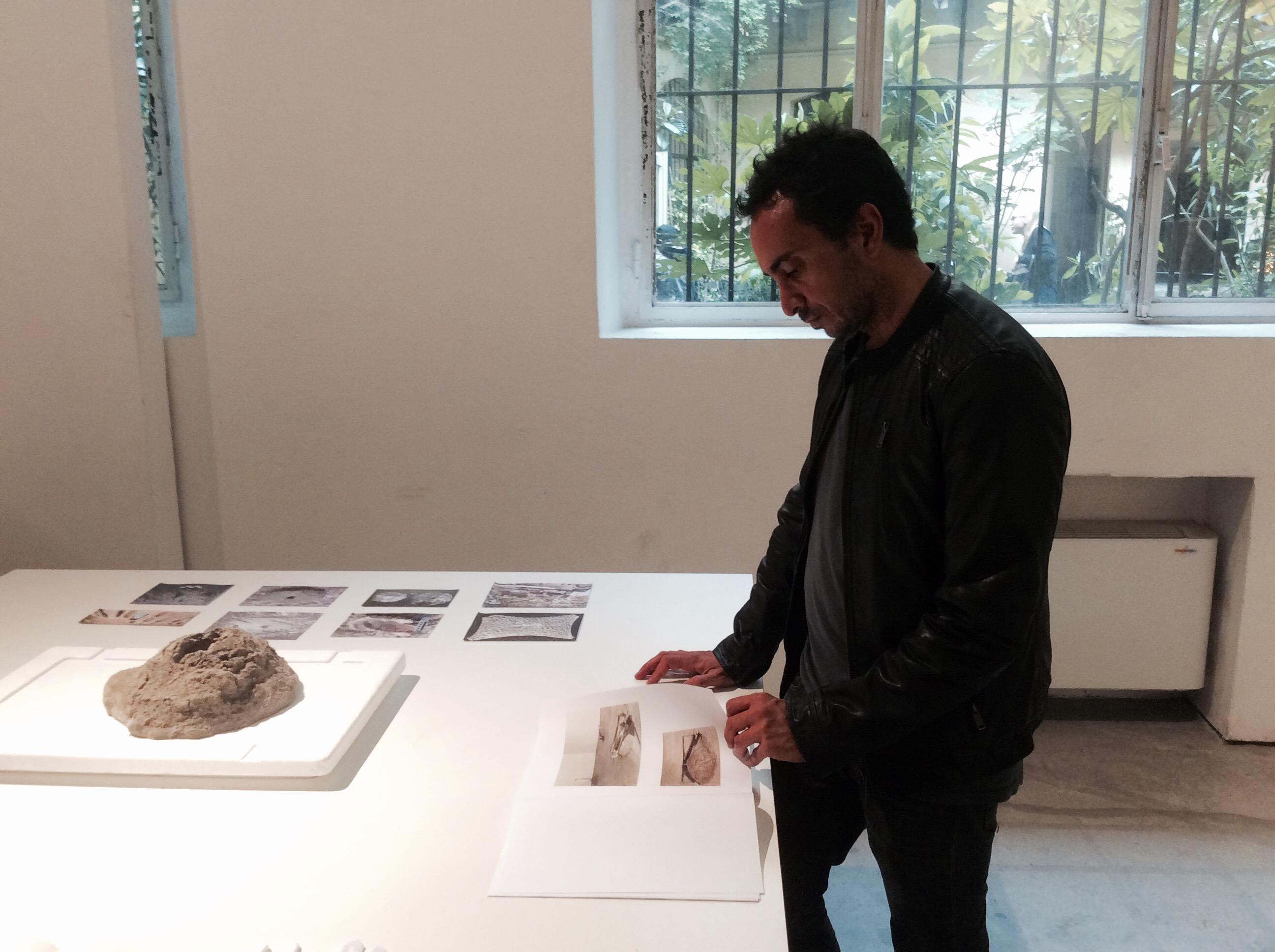 L'artista Stefano Canto