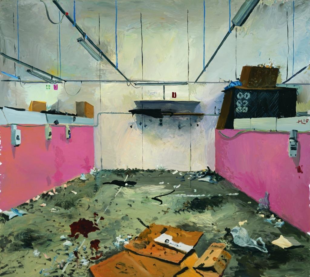 Liu Xiaodong, Chinatown 2, 2015 - Courtesy the artist and Massimo De Carlo, Milano:London:Hong Kong