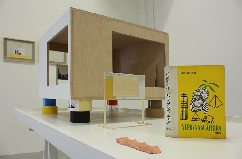 Marko Tadić – Imagine a Moving Image - installation view at Laura Bulian Gallery, Milano 2016