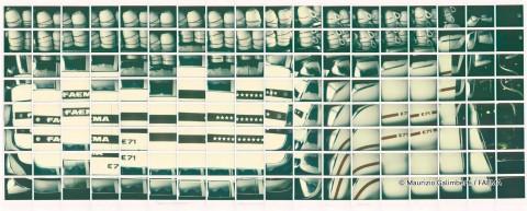 Maurizio Galimberti, fotografia realizzata per Gruppo Cimbali - Faema, mostra 'Express Your Art', MUMAC - Museo della Macchina per Caffè, Binasco (Milano), 30 maggio - 30 ottobre 2016