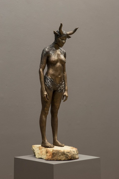 Nandipha Mntambo, Maquette for Minotaurus, 2015 - courtesy Stevenson Gallery