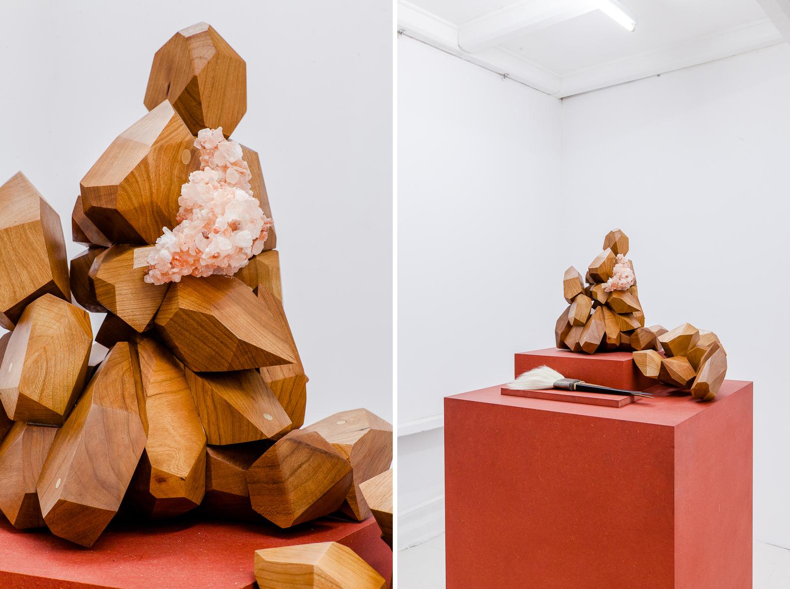 Olga Micińska – to pragma – veduta della mostra presso la Galleria Starter, Varsavia 2016 – photo Przemysław Nieciecki:PION