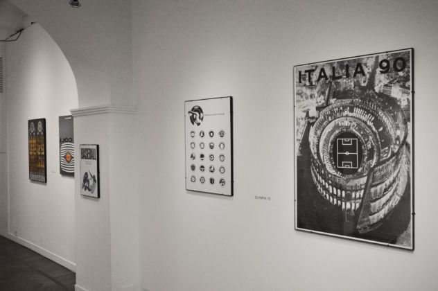 Olympia '72 - installation view at Colli Independent Art Gallery, Roma 2016