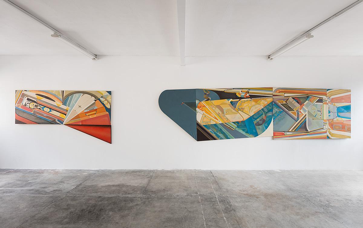 Paolo Gioli – installation view at Peep-Hole, Milano 2016 - photo ©2016 Andrea Rossetti