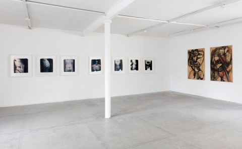 Paolo Gioli, installation view at Peep-Hole, Milano 2016 - photo ©2016 Andrea Rossetti