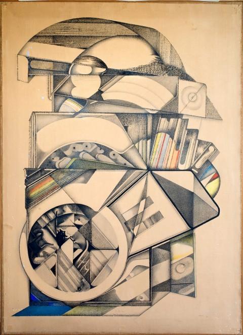 Paolo Gioli, The Big Lens, 1968