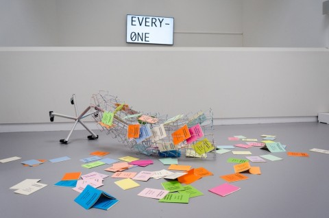 Rien ne va plus? Faites vos jeux! – installation view de Appel, Amsterdam 2016 - photo Antonio Picascia