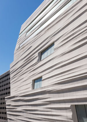 SFMOMA façade of Snøhetta expansion; photo- © Henrik Kam, courtesy SFMOMA