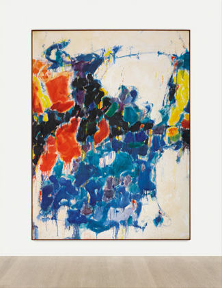 Sam Francis, Summer #1, 1957