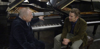 Seymour Bernstein ed Ethan Hawke nel documentario Seymour – An Introduction
