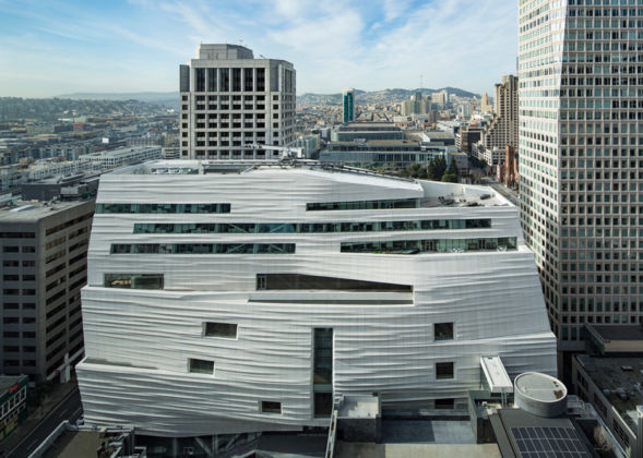 Snøhetta expansion of the new SFMOMA, 2016; photo- © Henrik Kam, courtesy SFMOMA