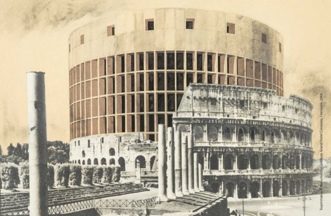 Superstudio, Il Monumento Continuo, Grand Hotel Colosseo, 1969 - courtesy Fondazione MAXXI, Roma