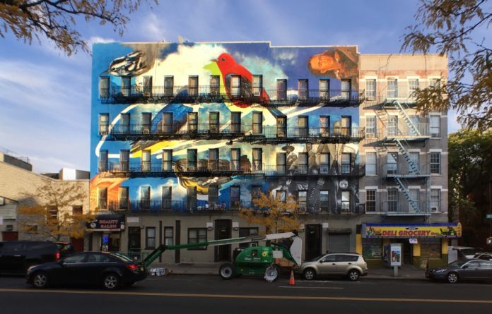 The Audubon Mural Project, Harlem, New York City - photo Mike Fernandez