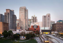 The new SFMOMA, view from Yerba Buena Gardens - photo © Henrik Kam, courtesy SFMOMA