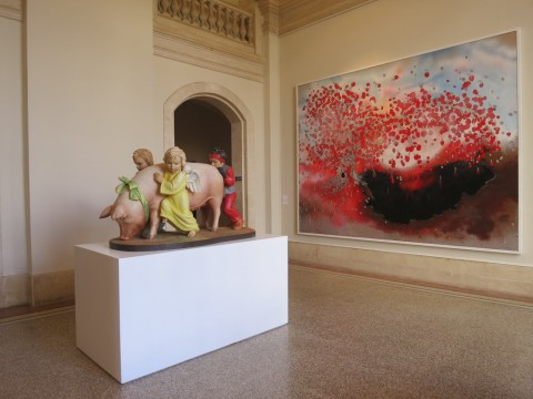 Urs Fischer – False Friends – installation view at Musée d'art et d'histoire, Ginevra 2016