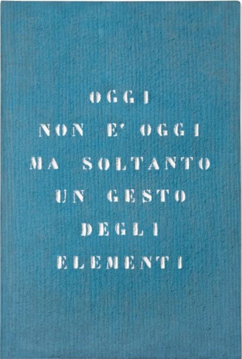 Vincenzo Agnetti, Paesaggio, 1971