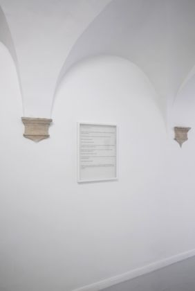 Vincenzo Schillaci – Dove nessuno va - installation view at Operativa Arte Contemporanea, Roma 2016