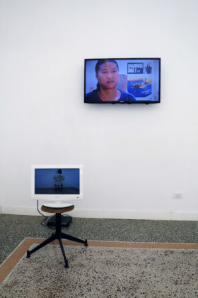 Wang Du - Someday - installation view at view Zoo Zone Art Forum, Roma 2016