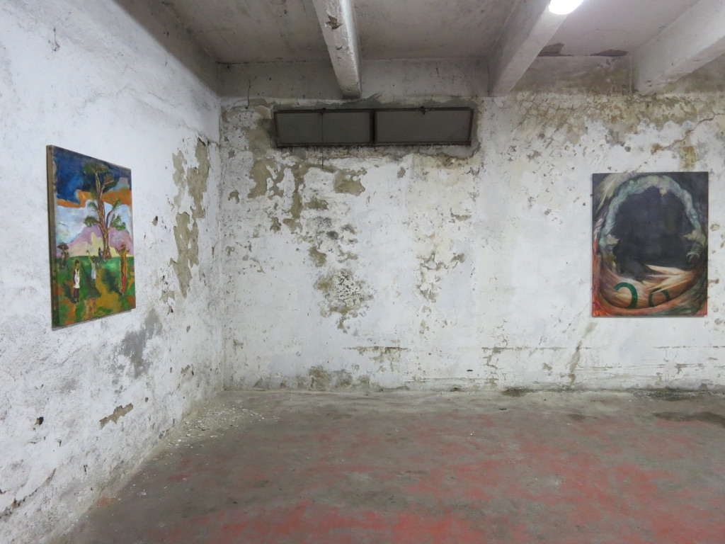 Where Wild Flowers Grow - installation view at Armada, Milano 2016