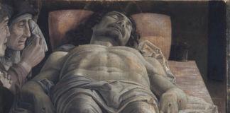 Andrea Mantegna, Cristo morto nel sepolcro e tre dolenti, 1470-1474, Milano Pinacoteca Brera