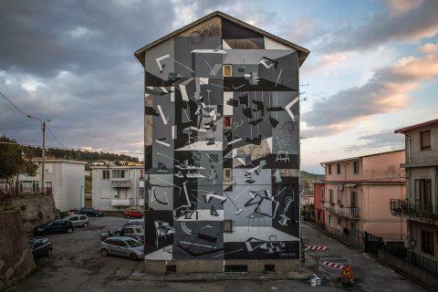 Clemens Behr, Space to Place, Via degli Aragonesi 3. Quartiere Campagnella, Catanzaro; photo by Angelo Jaroszuk Bogasz