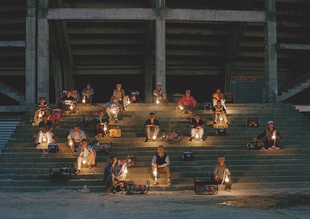 Adrian Paci, Turn on, 2005 – video – still from video – Collezione La Gaia